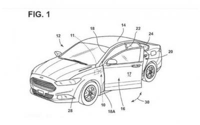 Ford brevetta le portiere a comando vocale